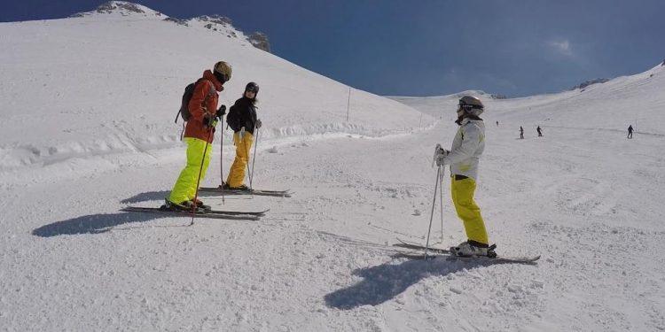 we skiing at Kalavryta