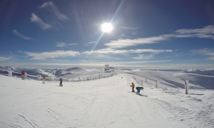 kalavryta ski center winter
